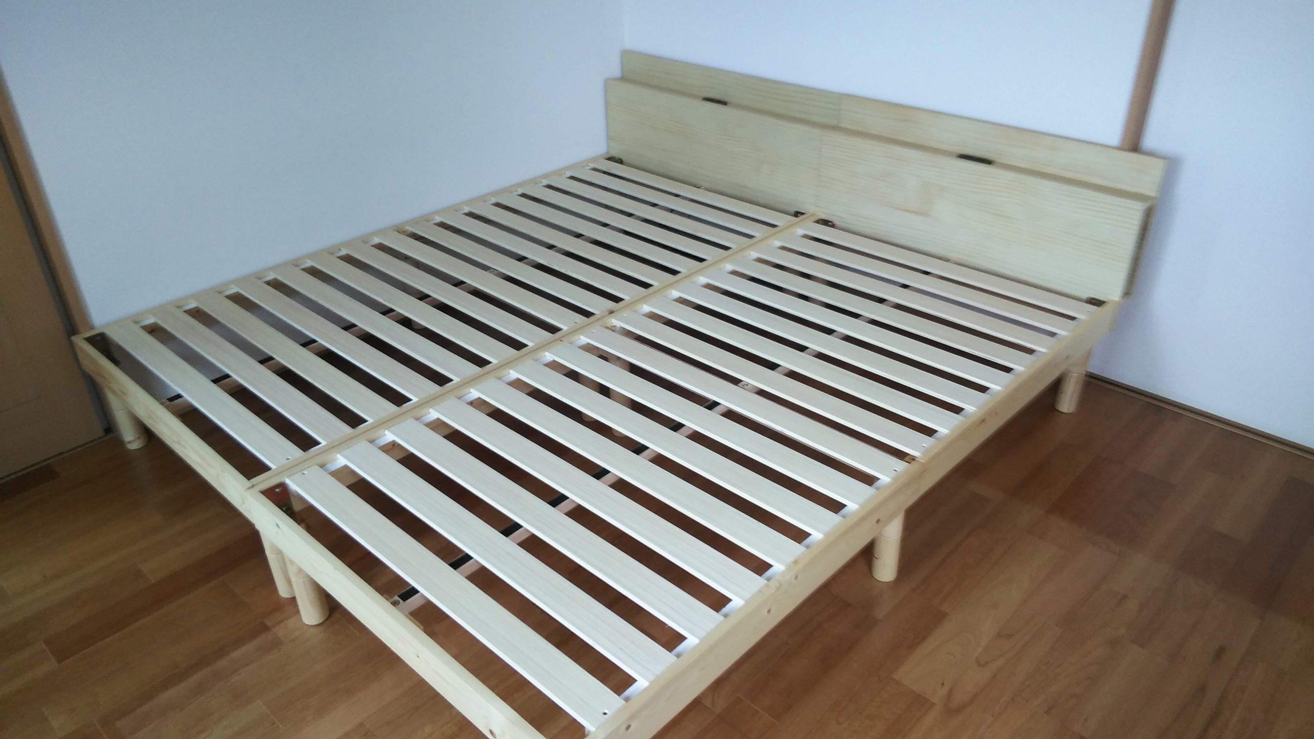 マットレス付きのすのこベッド
